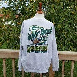 Vintage Green Bay Packers 1997 Sweatshirt